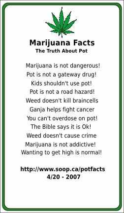 Pot Facts